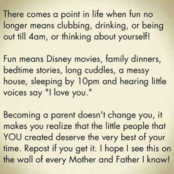 Kudos to young parents. Actually, any parent! Love my