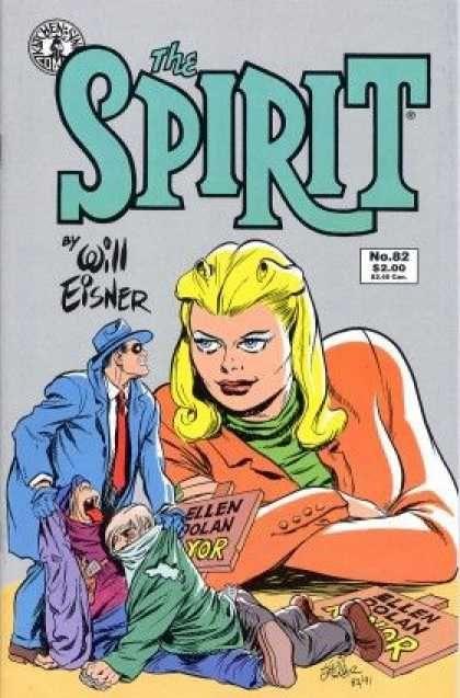 The Spirit - Will Eisner - Ellen Dolan - Blue Hat - Green Jacket - Will Eisner