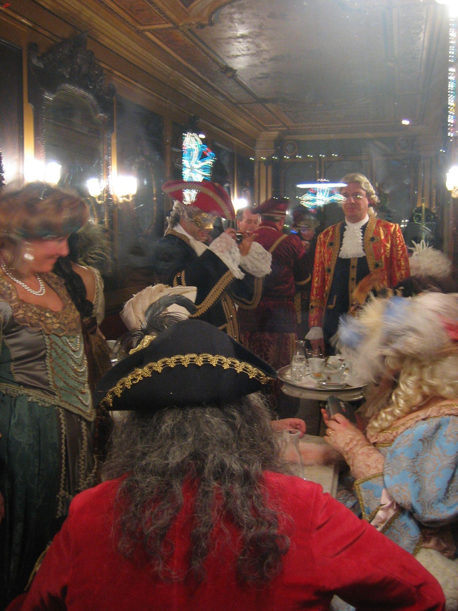 Venezia - carnevale al Caffè Florian