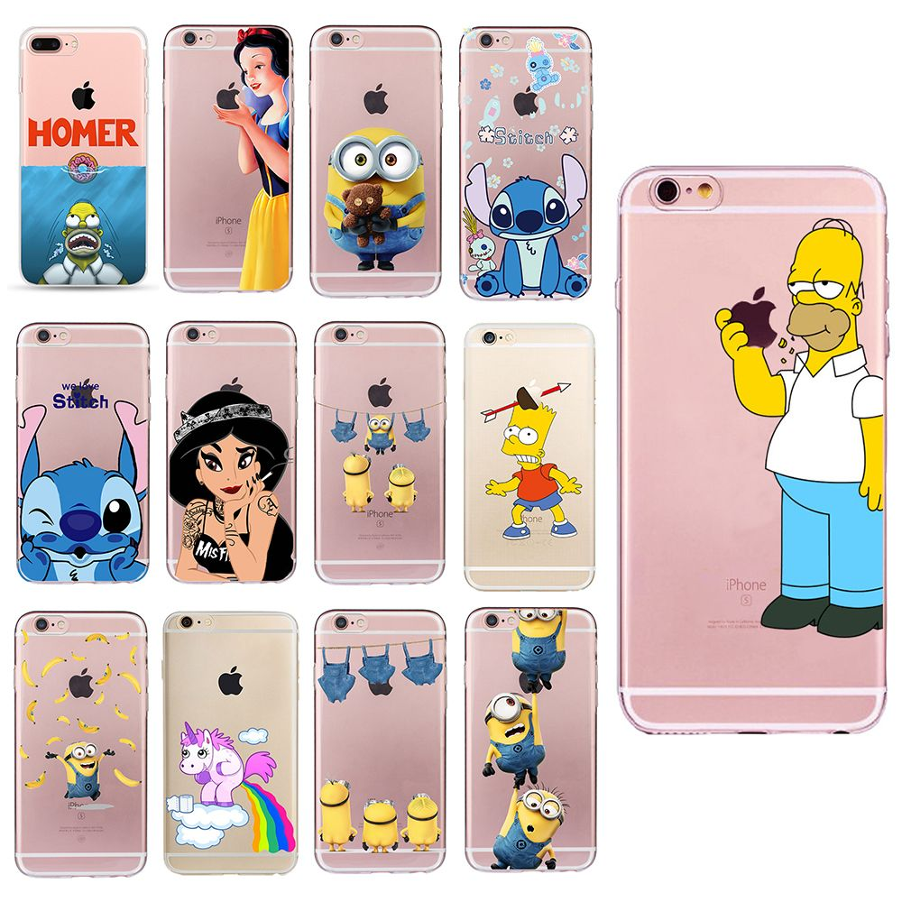 coque iphone 8 plus homer simpson
