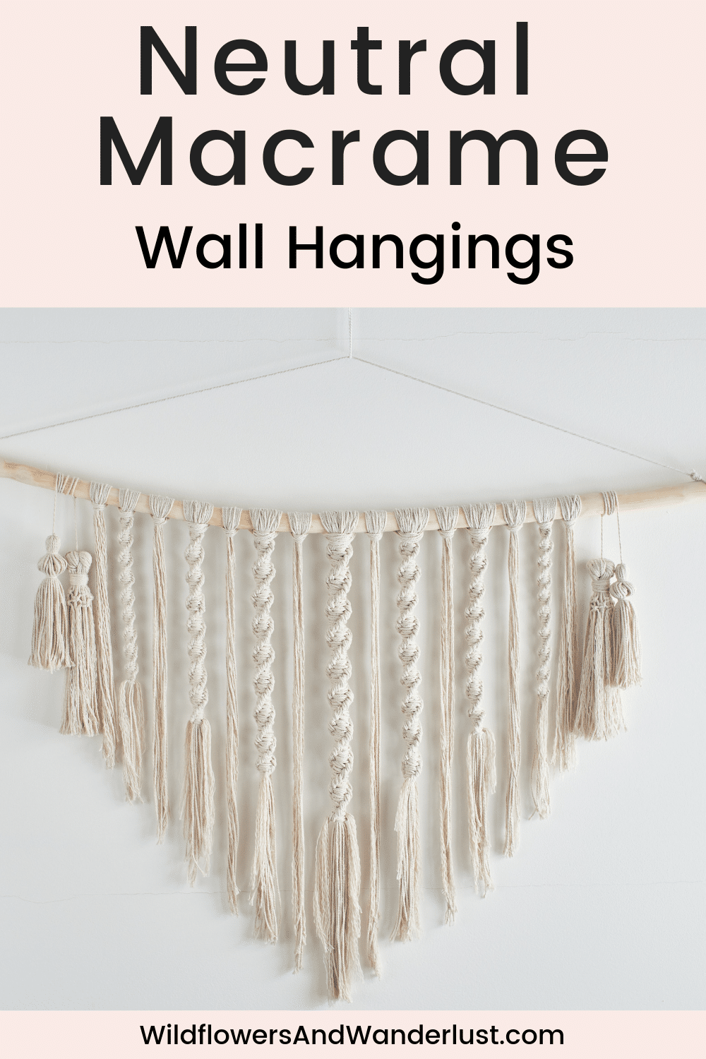 12 Awesome Macrame Wall Hangings Macrame Wall Hanging Yarn Wall Hanging Yarn Wall Art