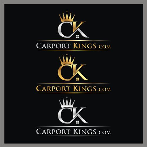Carport Kings Com Carport Company Needs An Eye Popping Brand Construction Logo Design Construction Logo Logo Design