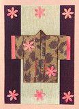 Flowers Greeting Card (Kimono Series)
