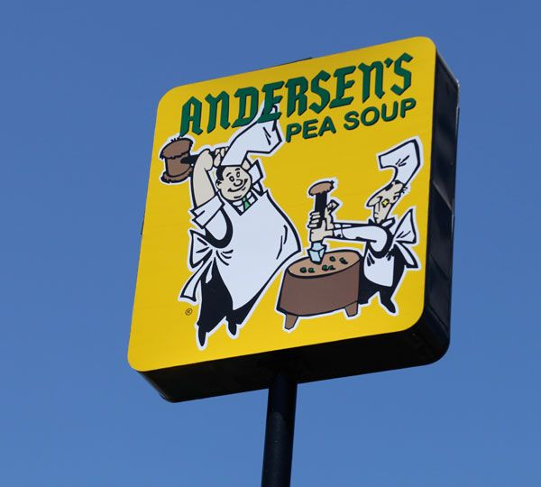 4 6 Anderson S Pea Soup Restaurant In Santa Nella Ca Absolute Must Do If Only For The Nostalgia Factor