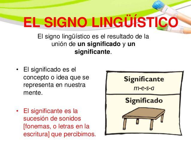 El Signo Linguistico Http Es Slideshare Net Juannitomacedo Semntica Y Signo Ensenanza De La Literatura Libros Infantiles Para Leer Niveles De La Lengua