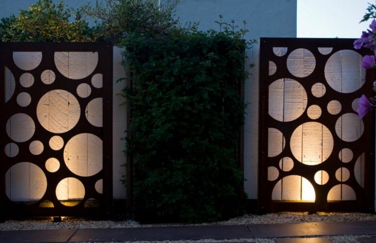 Déco mur extérieur jardin : 51 belles idées à essayer | Mur ...