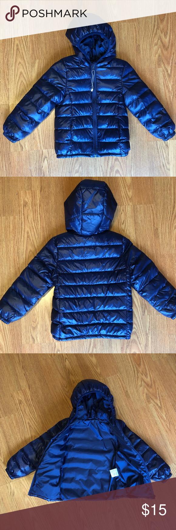 3t 4t Boys Lightweight Puffer Jacket With Hood Hooded Jacket Jackets Girls Windbreaker [ 1740 x 580 Pixel ]