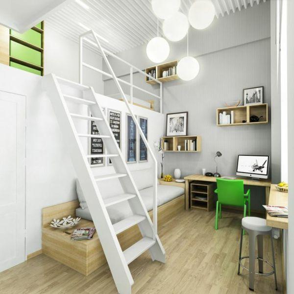 choisir un escalier pour mezzanine pour son loft am nager pinterest mezzanine escalier. Black Bedroom Furniture Sets. Home Design Ideas