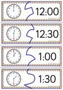 3 Levels Of Telling Time Puzzles - K-3 Teacher Resources