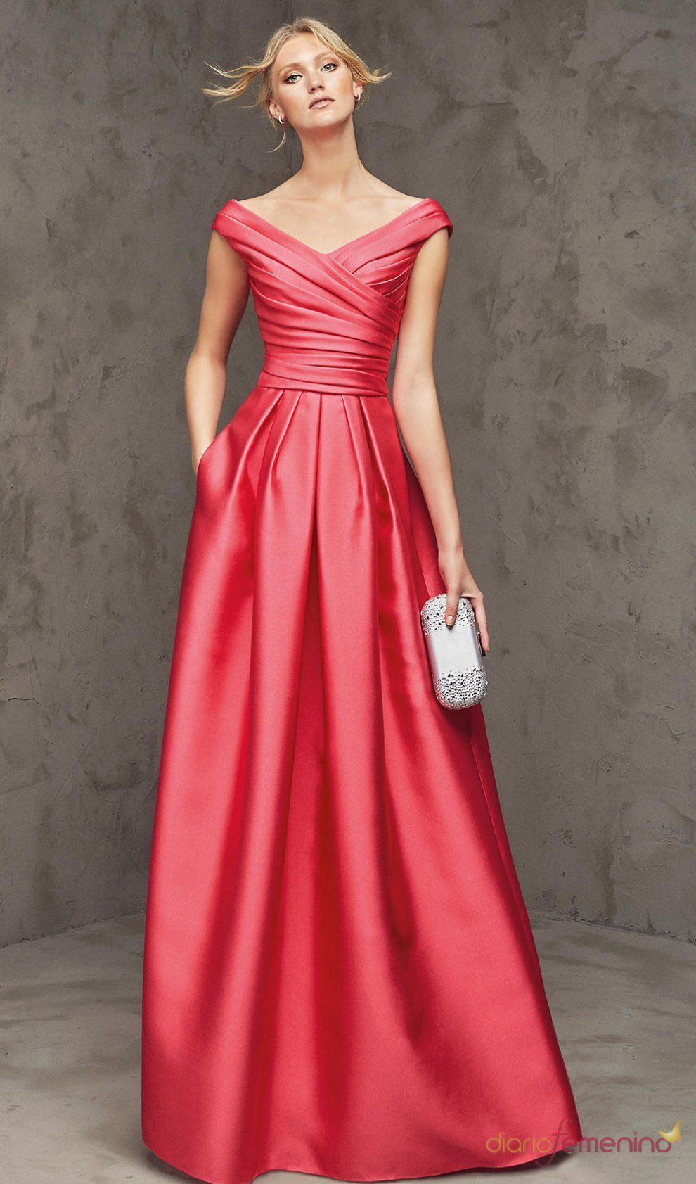 816e9e331 comprar 2016 piso longitud con cuello v con volantes blusa vestidos noche  raso 61915 baratos en línea