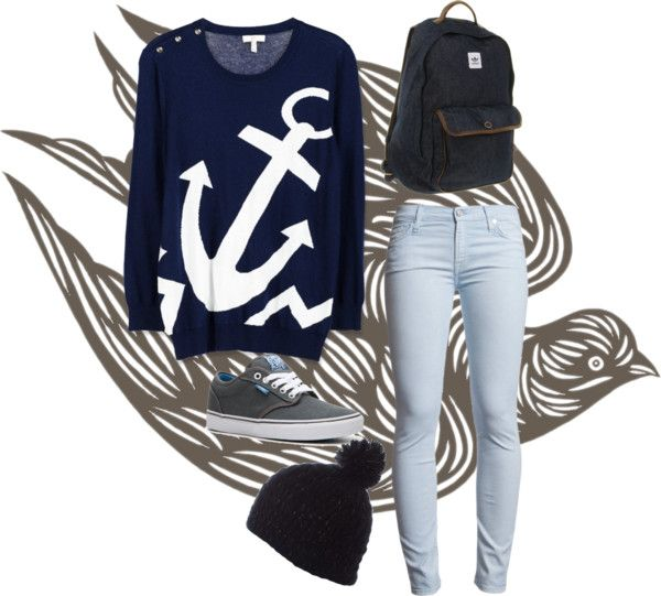 """i refuse to sink"" by fiorella-sobenes on Polyvore- love love love"