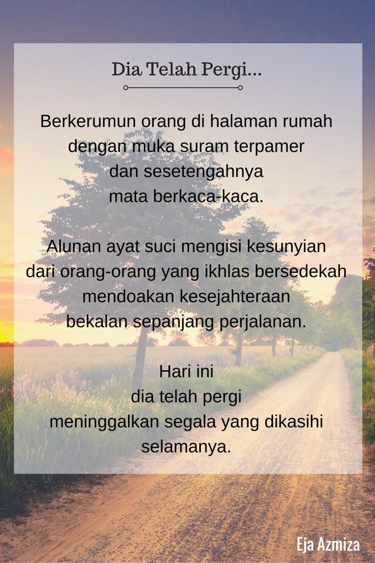 Pin On Poem Puisi By Eja Azmiza