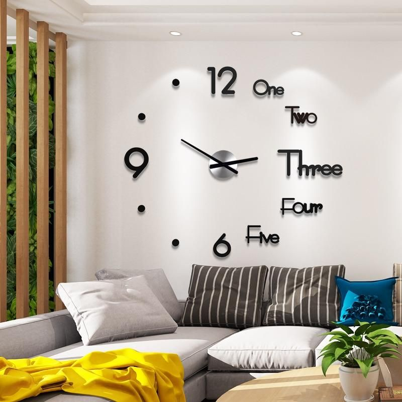 Wall Clocks Page 2 Lewe Decor In 2020 Diy Clock Wall Large Wall Clock Modern Wall Clocks Living Room