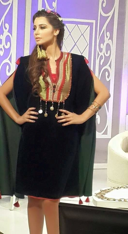 Tenue Traditionnelle Tunisienne Modernisee Robe D Interieur