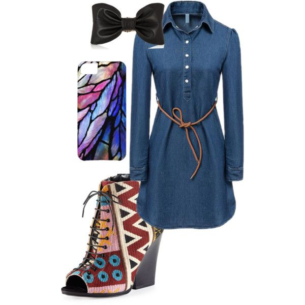 #Amazing by itsagoldsky on Polyvore featuring mode, Burberry, Balmain, Spring, Heels, dress, colorful and demin
