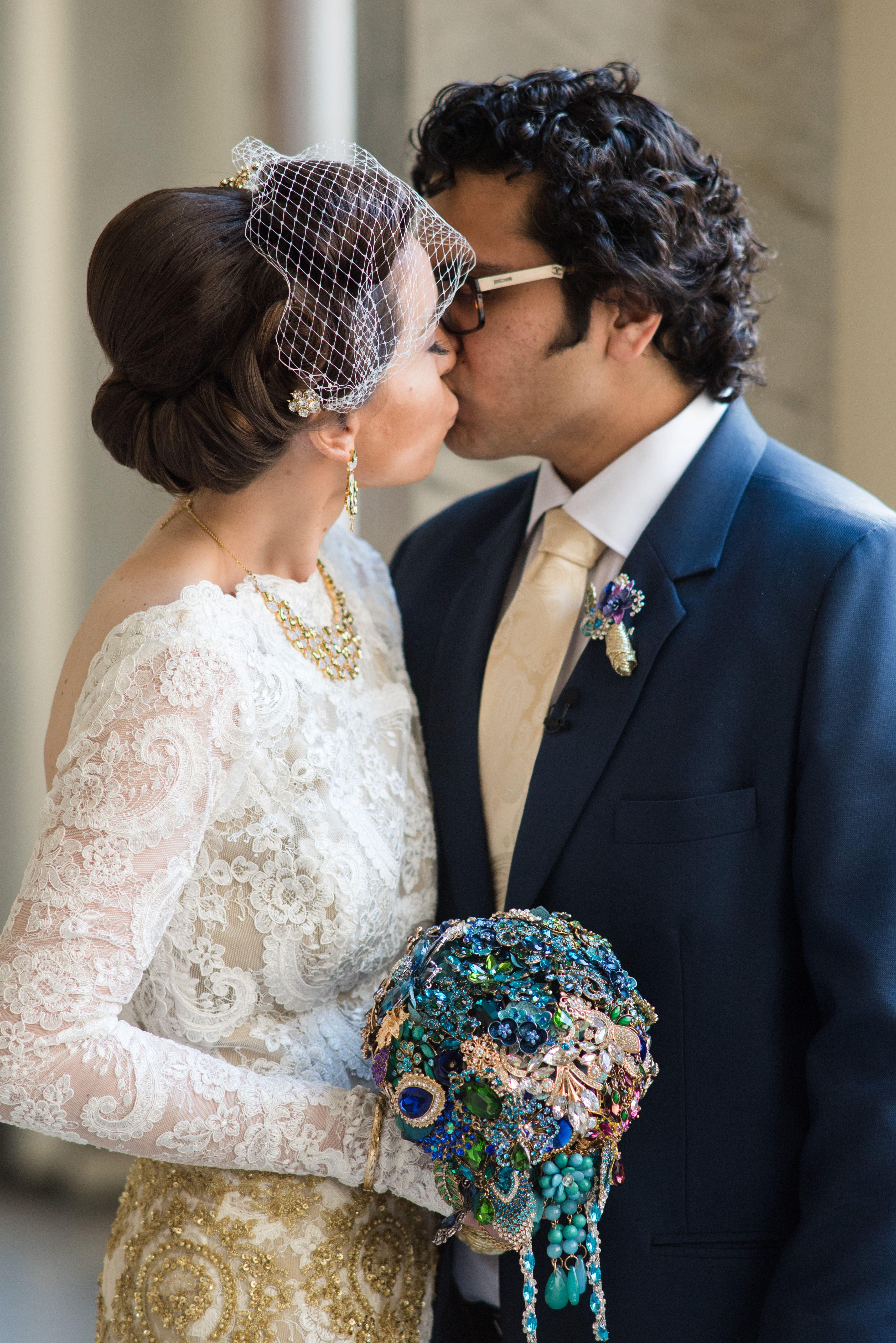 Brooch bouquet and boutonierre wedding pinterest wedding