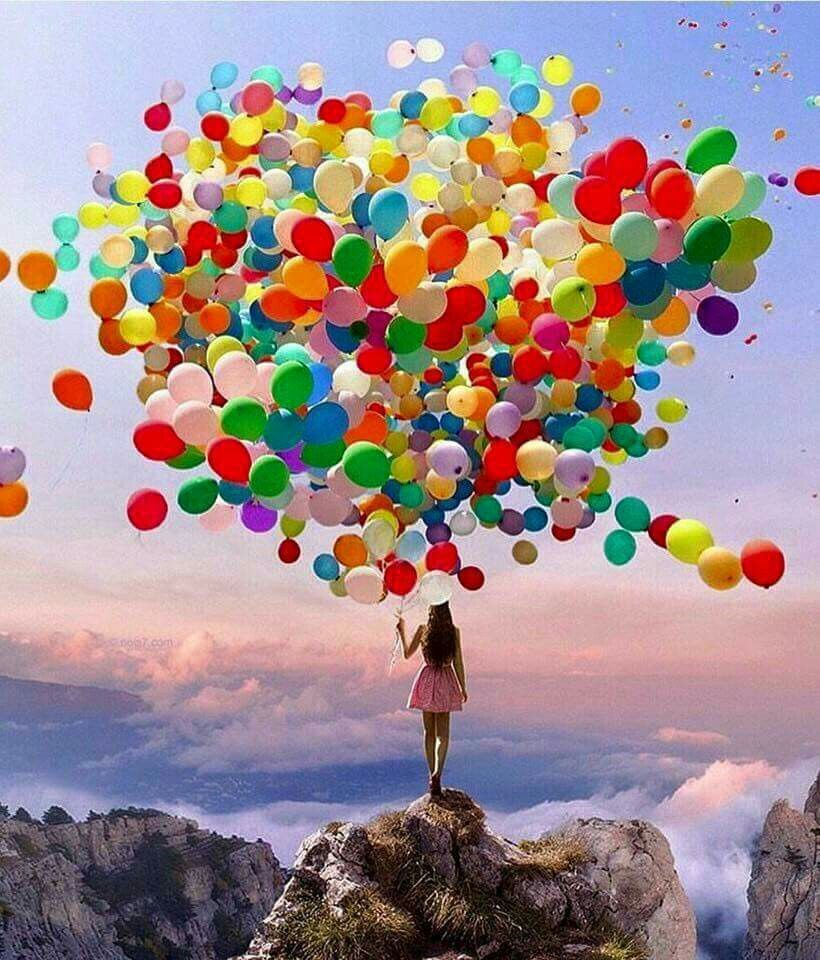 Happy # Colorful # Balloons Rhs