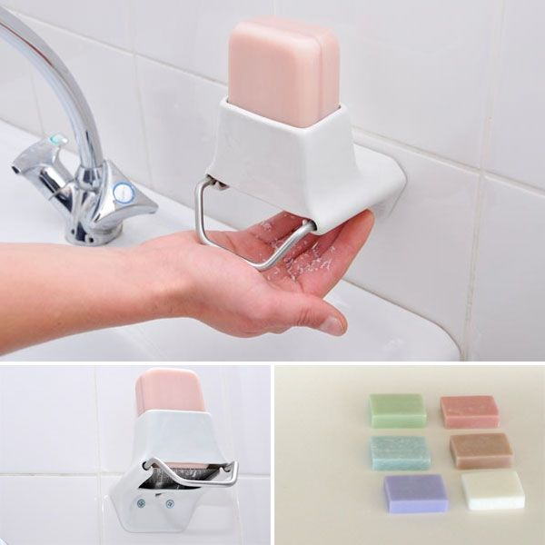 Soap Flake Dispenser By Nathalie Staempflis Then You Can Use Those Yummy Soaps Without All That Sloppy Mess In The Dish Bleck