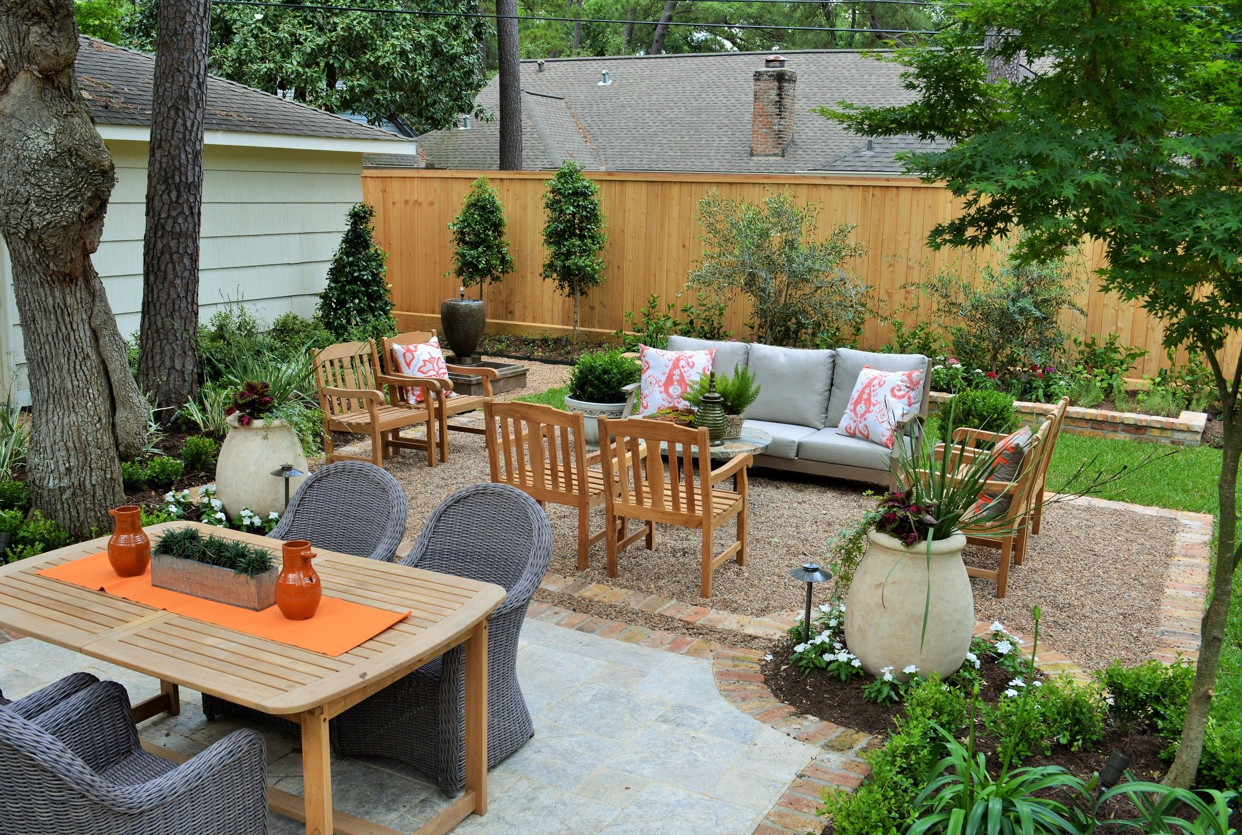 backyard beautiful houston landscaping makeover! — renovate