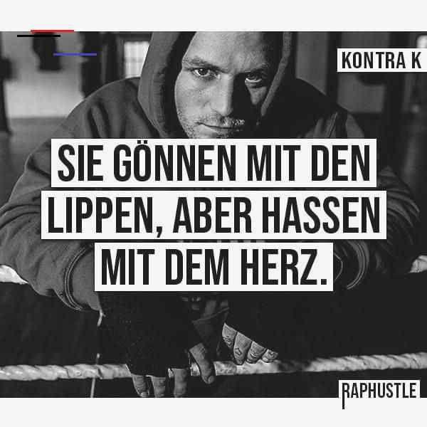 20 Deutschrap Zitate   CONN3CTOR KONTRA K #fitness #fitnesssprüche #sprüche #zitate<br>