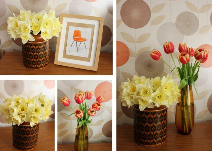deko blumen dekoideen schöne vasen Blumen und Pflanzen Pinterest