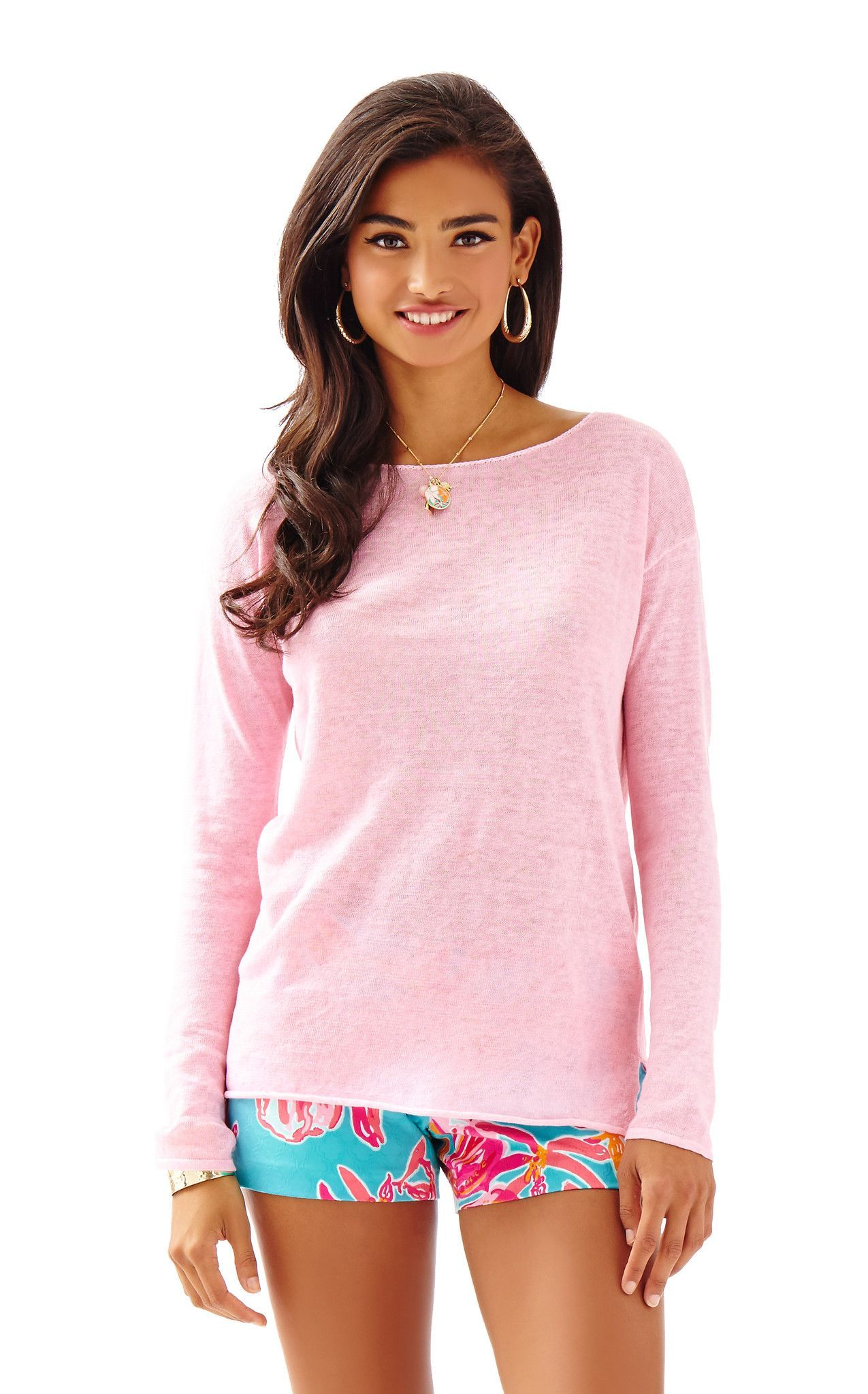 Alana Sweater in Paradise Pink | Hermosa Sonrisa | Pinterest ...