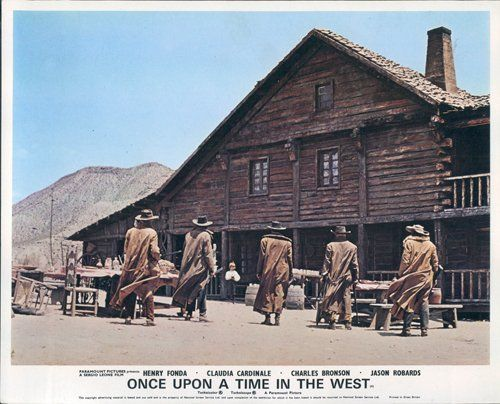 Once Upon A Time In The West 1968 Westerns Filmes Diretores