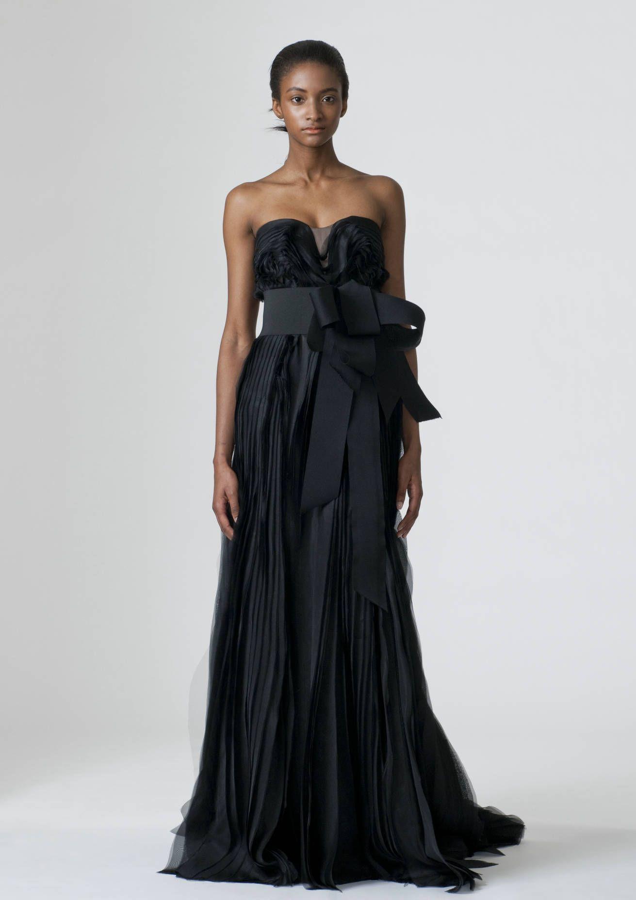 Black Designer Wedding Dresses