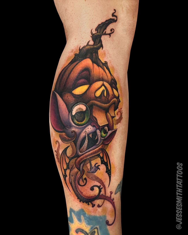 Octo lantern butterfly bat famous tattoo artists