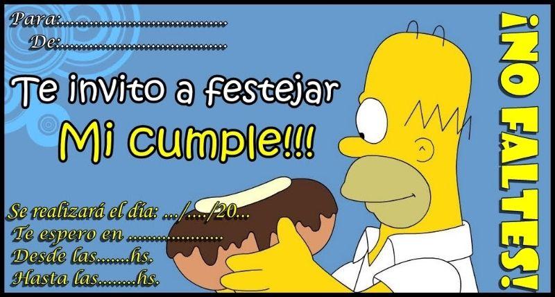 Imágenes Para Cumpleaños De Los Simpsons En 2020 Fiesta De