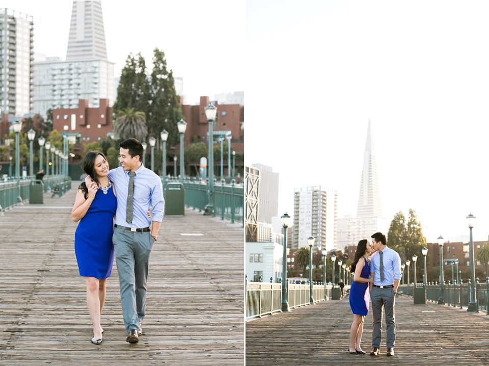 San Francisco Engagement Golden Gate Park Pier 7 Monica Mark
