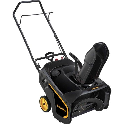 Poulan Pro 21' 208cc Single-Stage Snow Thrower with Electric Start