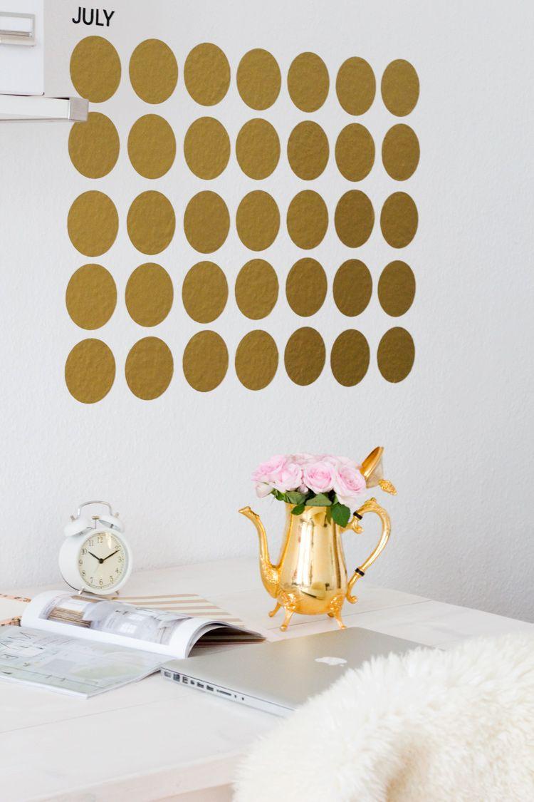 Gouden kalender #DIY #Home