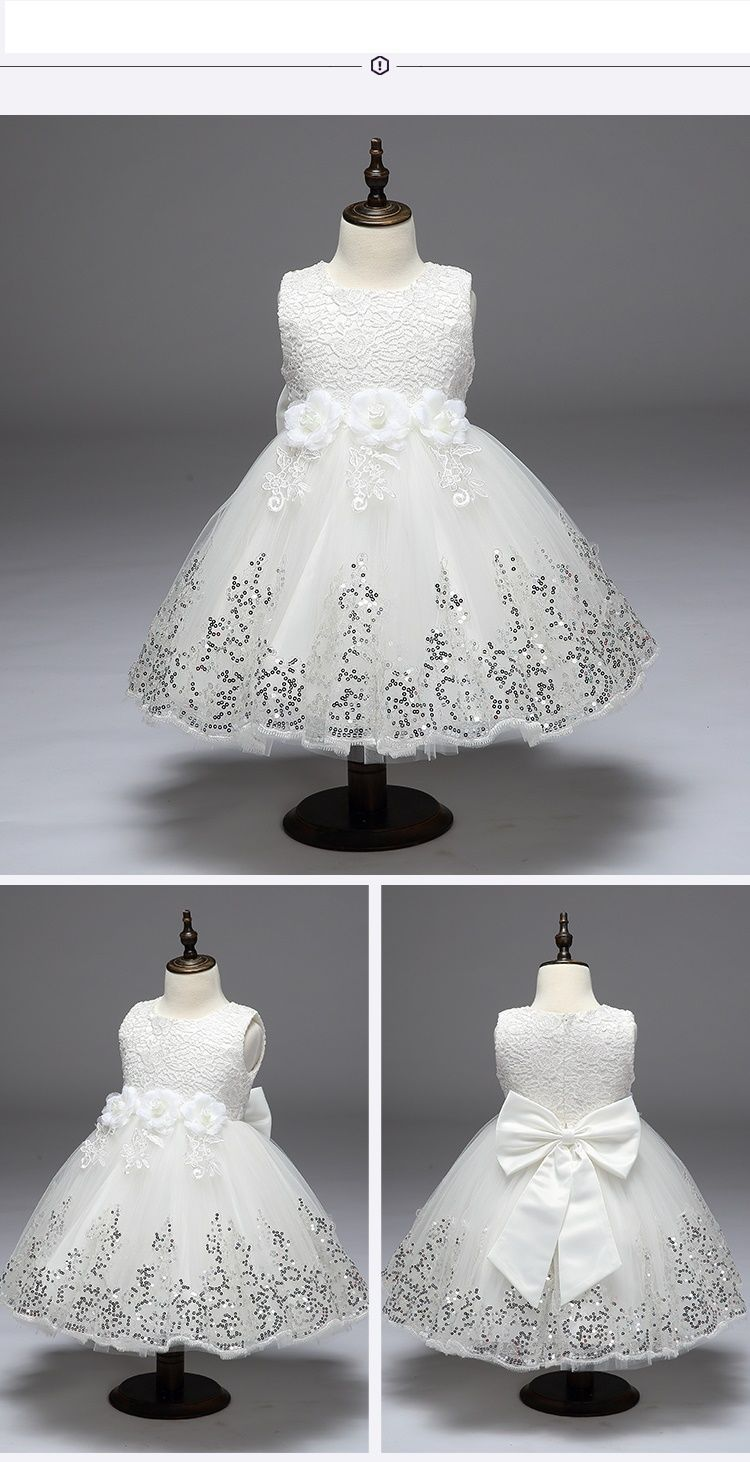 Girls Dress Children Clothing Princess Summer Party Wedding ...