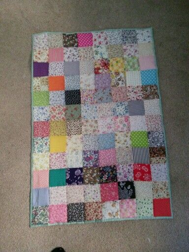 My First Ever Quilt