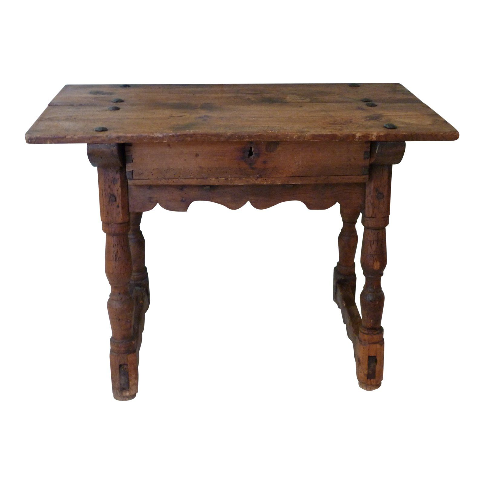 19th Century Rustic Spanish Console For Sale Spanish Style Homes Mediterranean Home Decor Rustic Dining Table [ 1600 x 1600 Pixel ]