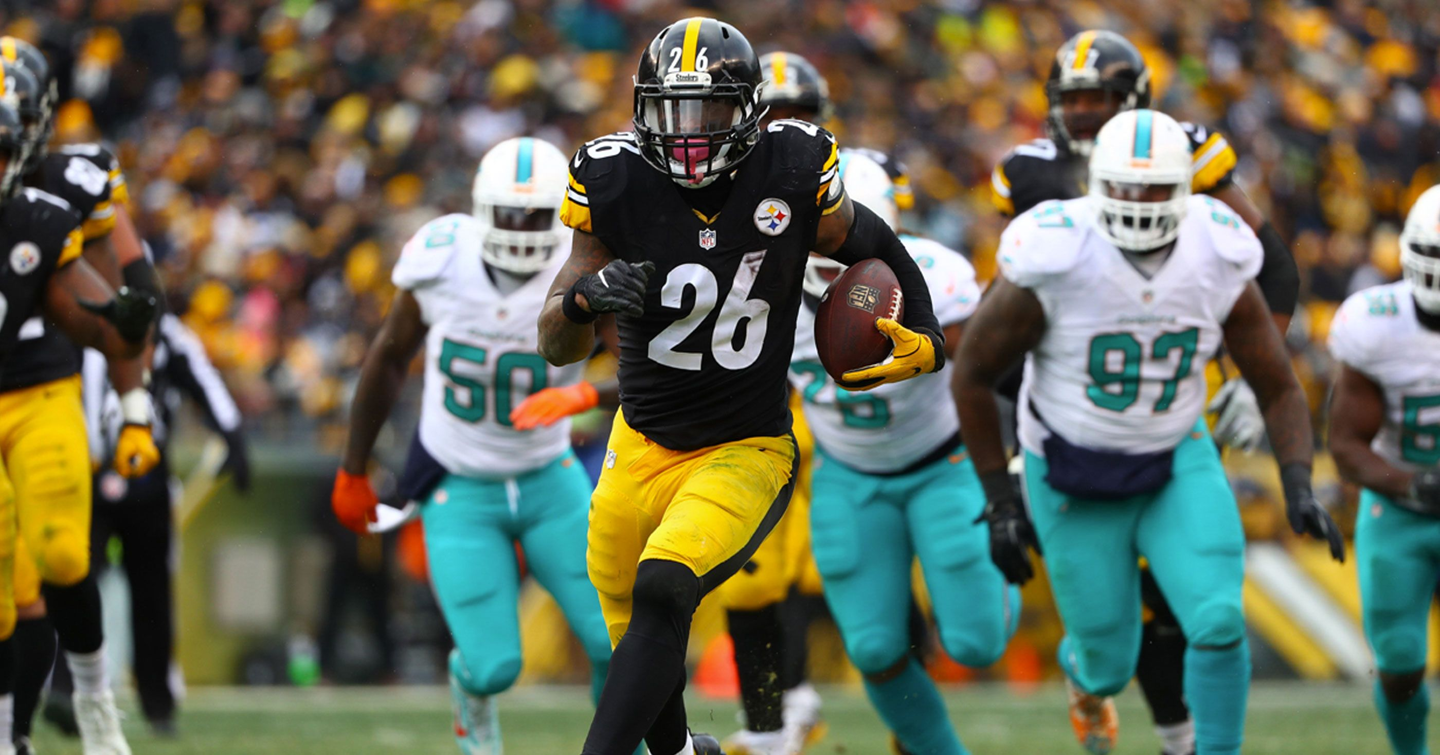 3550896f280 RB Le'Veon Bell Prefers To Sign With Miami Dolphins Come Free Agency ...