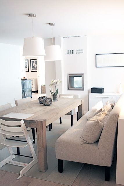 Cozy And Simple Dining Table Living Dining Room Dining Room