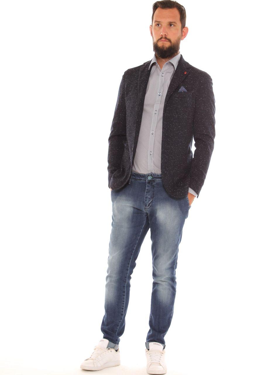 Outfit da ufficio giacca slim 9b19eac681b