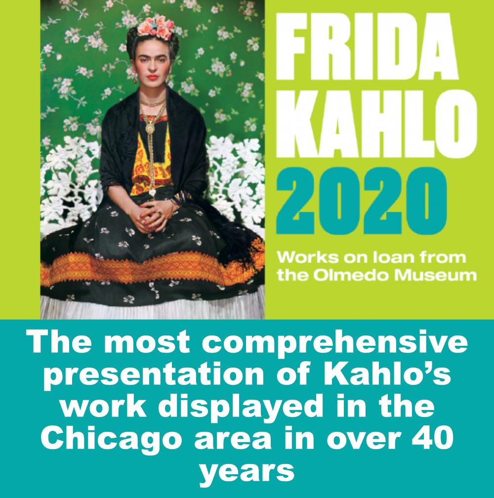 frida kahlo chicago 2020