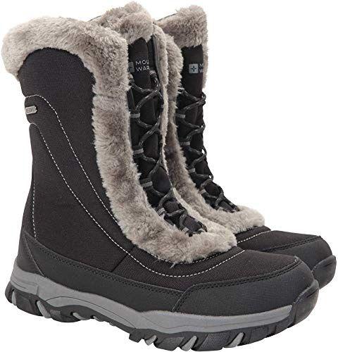 Kaufen Sie Mountain Warehouse Ohio Damen Winter Schneeschuhe – Damen Warme Schuhe online – Onlineshopping Angebote