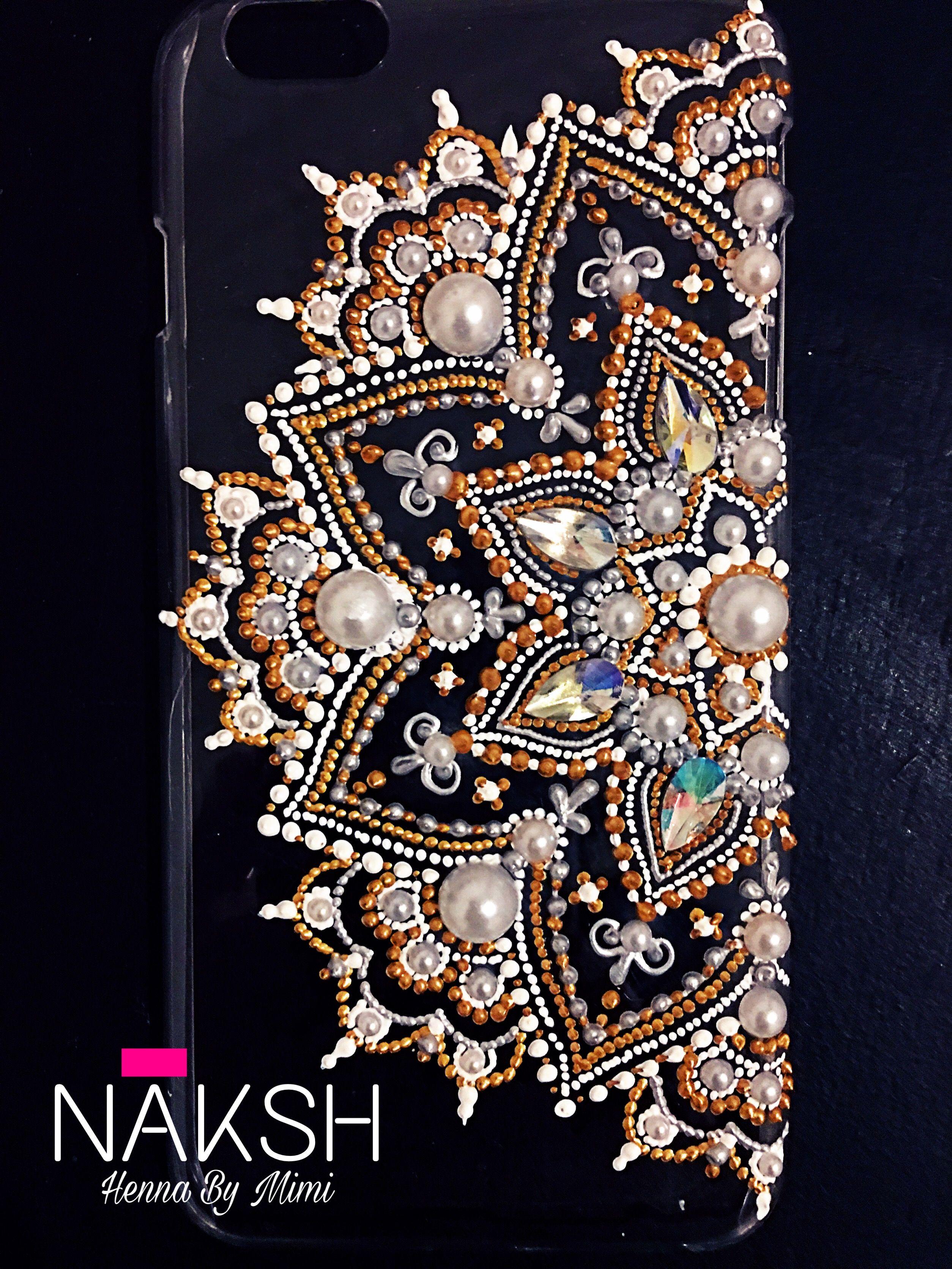 Coque iPhone 6/6s plus ..handmade | Точечные узоры ...