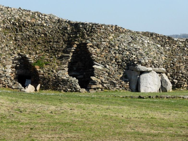 Barnenez Cairn, Finistere, FranceIt dates to the early Neolithic, about 4800 BC; it is considered one of the earliest megalithic monuments in Europe, as well as the oldest building in the world.