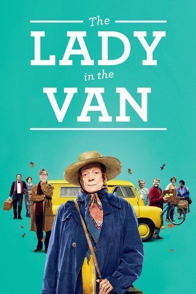 The Lady in the Van // The film tells the true story of the relationship between Alan Bennett and the singular Miss Shepherd, a woman of uncertain origins who 'temporarily' parked her van in Bennett's London driveway and proceeded to live there for fifteen years. // Dame Maggie Smith stars // Rated PG-13