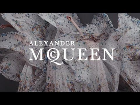 Alexander McQueen & Damien Hirst Scarf Collaboration| A Film - YouTube
