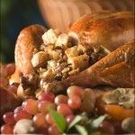 Maple Glazed Turkey with Pecan Sausage Stuffing