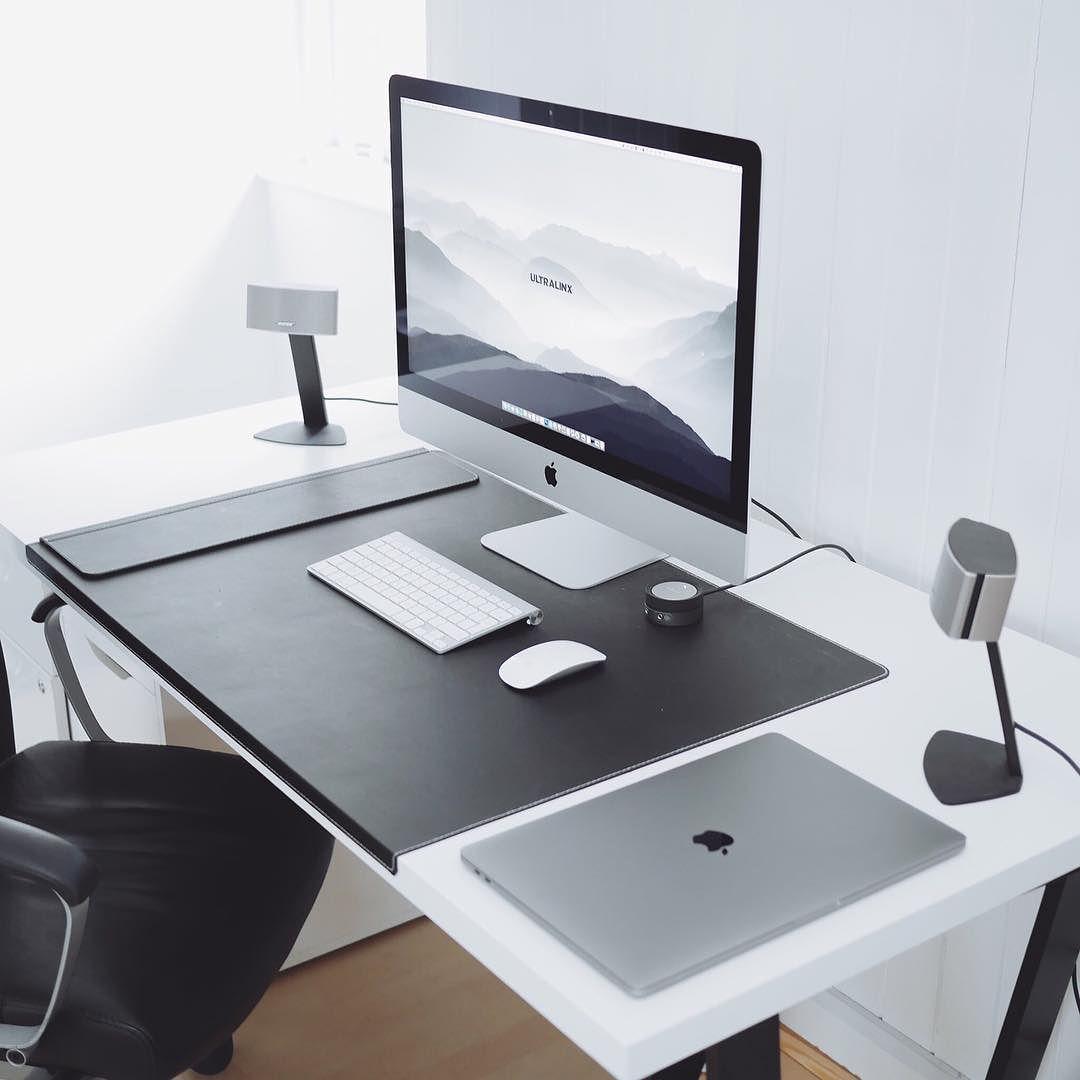 Linxspiration Https Www Instagram Com P Boxjzahh3vk Modern Computer Desk Computer Desk Design Home Office Setup