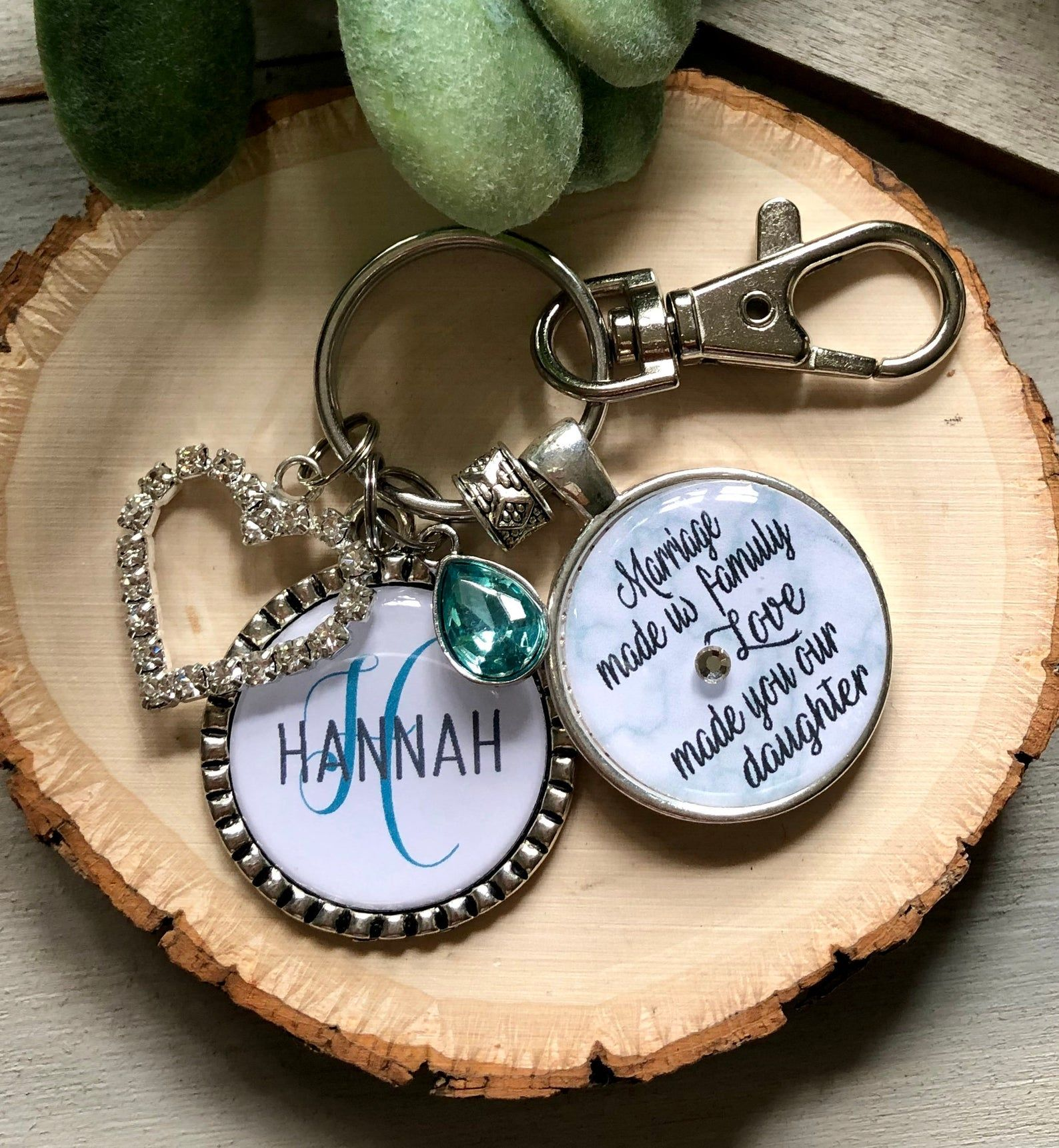 Daughter in law gift our son gave you his heart etsy