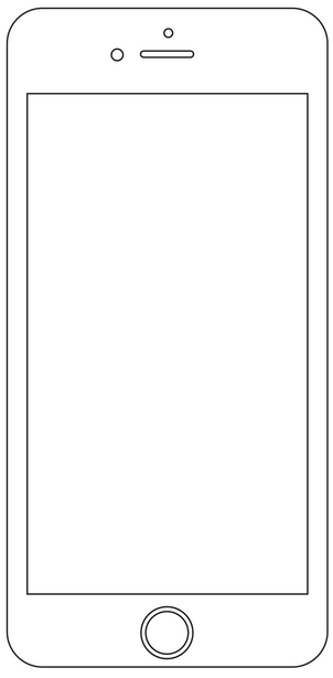 Iphone Coloring Page Coloring Home Coloring Pages Color Self Promotion