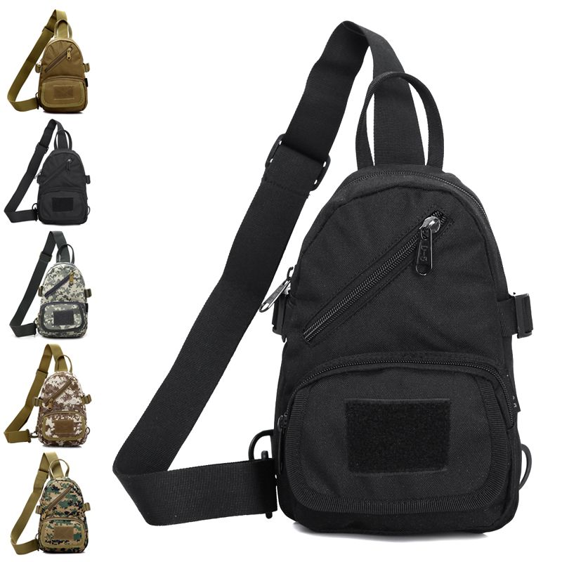 0588ac935f Aliexpress.com   Buy Bag fashion small chest pack man casual shoulder  messenger canvas backpack